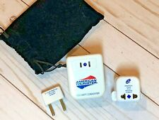 American Tourister International Converter Adapter Set with Carry Bag