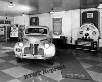 Photograph Vintage 1940 Chevrolet  / Chevy Dealer Showroom  Floor Display 8x10