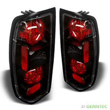 For 1998-2004 Frontier Altezza Black Tail Lights Rear Brake Lamp Pair New Set