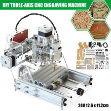 DIY 3 Axis Mini CNC Router Engraving PCB Milling Machine Engraver Wood Cutter