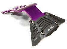 C26069PURPLE Alloy Rear Skid Plate for Traxxas 1/10 Scale E-Maxx Brushless