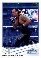 2013 Topps WWE SmackDown Undertaker card #81 Survivor Series