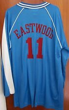 EASTWOOD High School lrg basketball jacket Eagles Pemberville warm-up Ohio #11