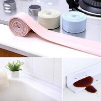 3.2M Bath Wall Sealing Strip Self-Adhesive Kitchen Bathroom Caulk Repair Tape