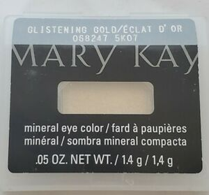 Mary Kay Mineral Eye Color ~ GLISTENING GOLD  ~ ***Discontinued***  ~ Ships FREE