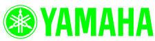 Pair Yamaha Decal GREEN Sticker Motorcycle Motocross Jetski Waverunner yz r6 r1
