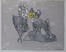 """Herve Bordas """"Homage To Picasso"""" Hand Signed Limited Edition Lithograph Print"""