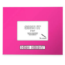 Sign It Hen Night Signature Photo Frame Keepsakes Brides to Be Gifts PF801