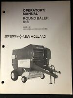 New Holland Operator's Manual 848 Baler *310-320