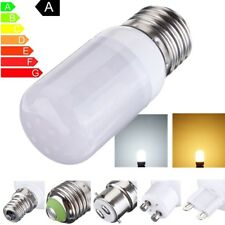 E12/E14/E27/B22 7W 27 LED 5730 SMD Corn Light Lamp Bulb Warm Pure White 12V/220V
