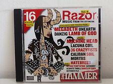 CD ALBUM Compil METAL HAMMER Razor Vol 8 MEGADETH / DANZIG / LAMB OF GOD ..