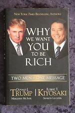 Donald Trump & Robert Kiyosaki - Why We Want You to be Rich HC/DJ wealth gurus