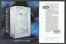 JACUZZI Steambath,Turbomassage and Cascade Shower    1993.Print Ad
