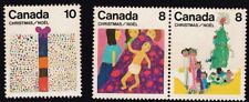 CANADA 1975 Christmas short set 8c seten pr and 10c ONLY 3v MNH @S1888
