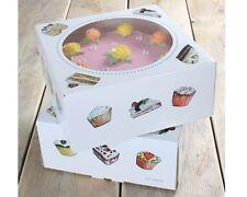 FunCakes Tortenbox -Cakes- 26x26x12cm, 2er Set Kuchenkarton, Tortenschachtel