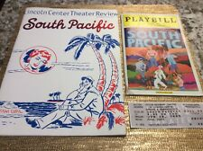 SOUTH PACIFIC Playbill, Ticket Stub & Review Booklet-Lincoln Center- NYC