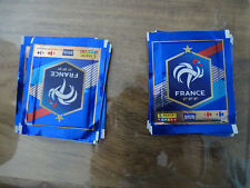 12 POCHETTES PANINI CARREFOUR 2018 FIERS D'ETRE BLEUS VIGNETTES FRANCE WORLD CUP