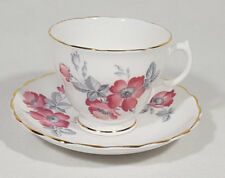 Daniels Fine Bone China Tea Cup & Saucer Made in England Floral Design
