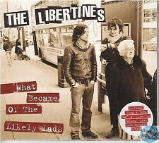 THE LIBERTINES WHAT BECAME OF THE LIKELY LADS MAXI CD digipack NEUF NEW