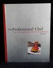 L44> THE PROFESSIONAL CHEF THE CULINARY ISTITUTE OF AMARICA 7th edition 2002