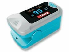 GIMA OXY-3 Pulsoximetro da Dito Portatile - Blu/Grigio (35090