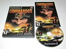 Commandos 2: Men of Courage for Playstation 2 Complete Fast Shipping