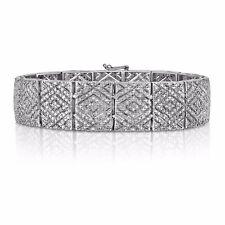 1 Cttw Diamond Shaped Tennis Bracelet