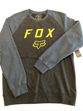 Fox Racing Steel Faith Crew Fleece Sweatshirt Black XL