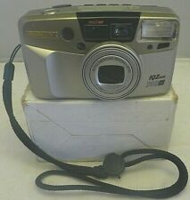Pentax IQZoom 140M with date 35mm Camera ~TESTED