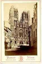 Bernheim Jeune, Belgique, Bruxelles, Saint Michel et Gudule  Vintage albumen pri