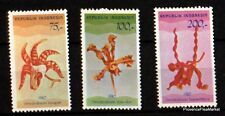 STAMPS NEW INDONESIA Scott 1348/9 1107/9 FLOWERS 98m245