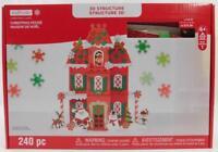 Creatology 3D Structure 240 pc Christmas House New Foam Kids Craft