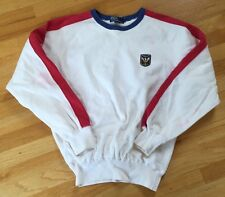 Vintage Ralph Lauren Uni Patch Sweatshirt Crewneck Cookie Bear Polo Sport Skier
