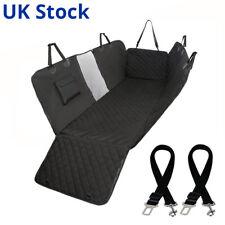 Perro Impermeable Cubierta de asiento de coche para mascotas Plus 2 arneses de cinturón de asiento Reino Unido Stock