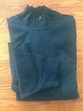 DOCKERS 1/4 Zip Mock Turtleneck Sweater Pullover Navy Size XXL New Sample