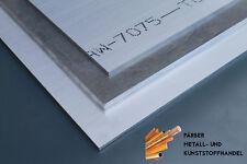 mm Aluminium Platte 130x48x15 AW-7075 HOCHFEST AlZnMgCu1,5 Halbzeug Alu Metall