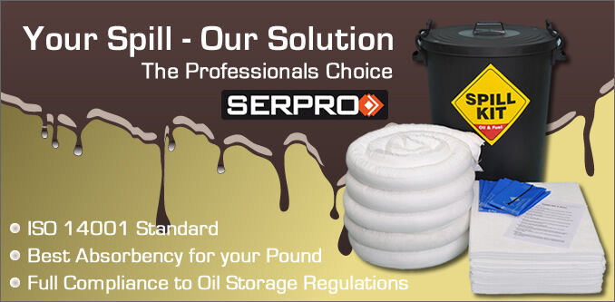 SERPRO Spill Kits and Absorbents