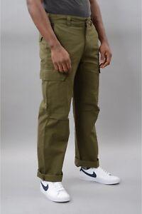 Dickies pantalon new york vert taille w 33 L 32 étiqueté 89€