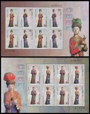 China 2003-15 Painted Statues Jinci Temple stamps mini-pane