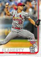 2019 Topps Opening Day #139 Jack Flaherty St. Louis Cardinals Baseball Card