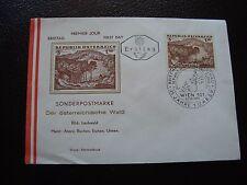 AUTRICHE - enveloppe 1er jour 12/10/1962 (B4) austria