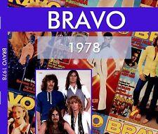 BRAVO 1978 - Alle Ausgaben des Jahres komplett im pdf Format - IM DIGIPACK!!!
