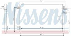 A/C Condenser  Nissens North America  94717