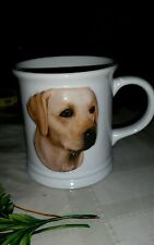 Yellow  Lab Labrador Retriever Dog Puppy Coffee Mug Cup