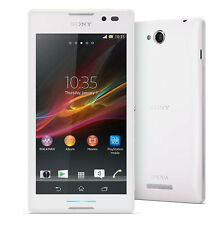 Unlocked New Original Sony Xperia C S39h C2305 Dual SIM 4GB 8MP Smartphone White
