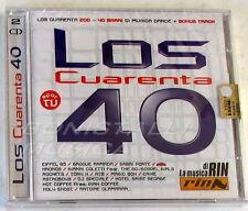VARIOUS - LOS CUARENTA 40 - Doppio CD Sigillato