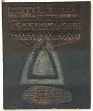 Fabre Max Huile et technique mixte sur toile signée Art Abstrait Abstraction