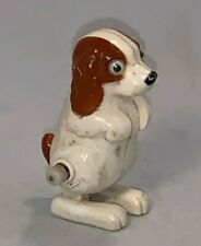 Tomy Toys, Plastic Wind-Up Walking Dog (Dated 1977,Working But Not Great)