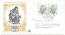BERLIN 1969, Berliner des 19. Jahrhunderts 20 Pf (2x) Schuster MeF portogerecht