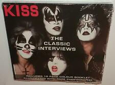 KISS THE CLASSIC INTERVIEWS (2005) BRAND NEW SEALED CD W/ BOOKLET